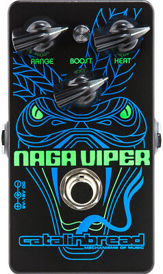 New Catalinbread Naga Viper Treble Boost Guitar Effects Pedal! for sale  Leominster