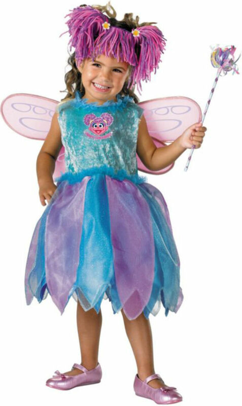 Morris Costumes Girls Abby Cadabby Detachable Padded Deluxe Costume 4-6. DG6915L