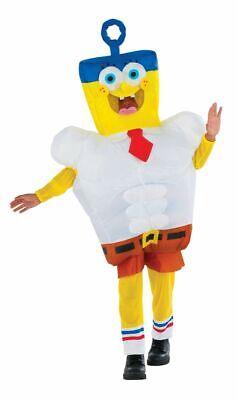 vincibubble Spongebob Film Kinder Halloween Kostüm 610809 (Aufblasbare Spongebob)
