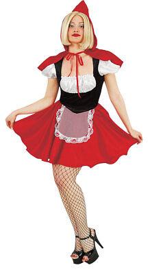 süßes Rotkäppchen Damen Mädchen Kostüm Märchen sexy Karneval - Sexy Märchen Kostüme