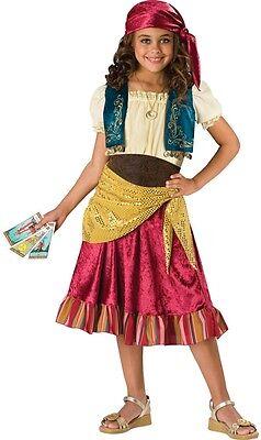 Mädchen 5 Teile Zigeuner Halloween Pirat Party Kostüm - Zigeuner Outfit