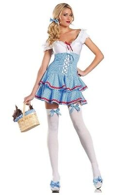 Be Wicked Womens Sexy Sweet Dorothy - Dorothy Costume Womens