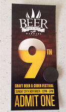Beer Festival ticket - Wanted Warners Bay Lake Macquarie Area Preview