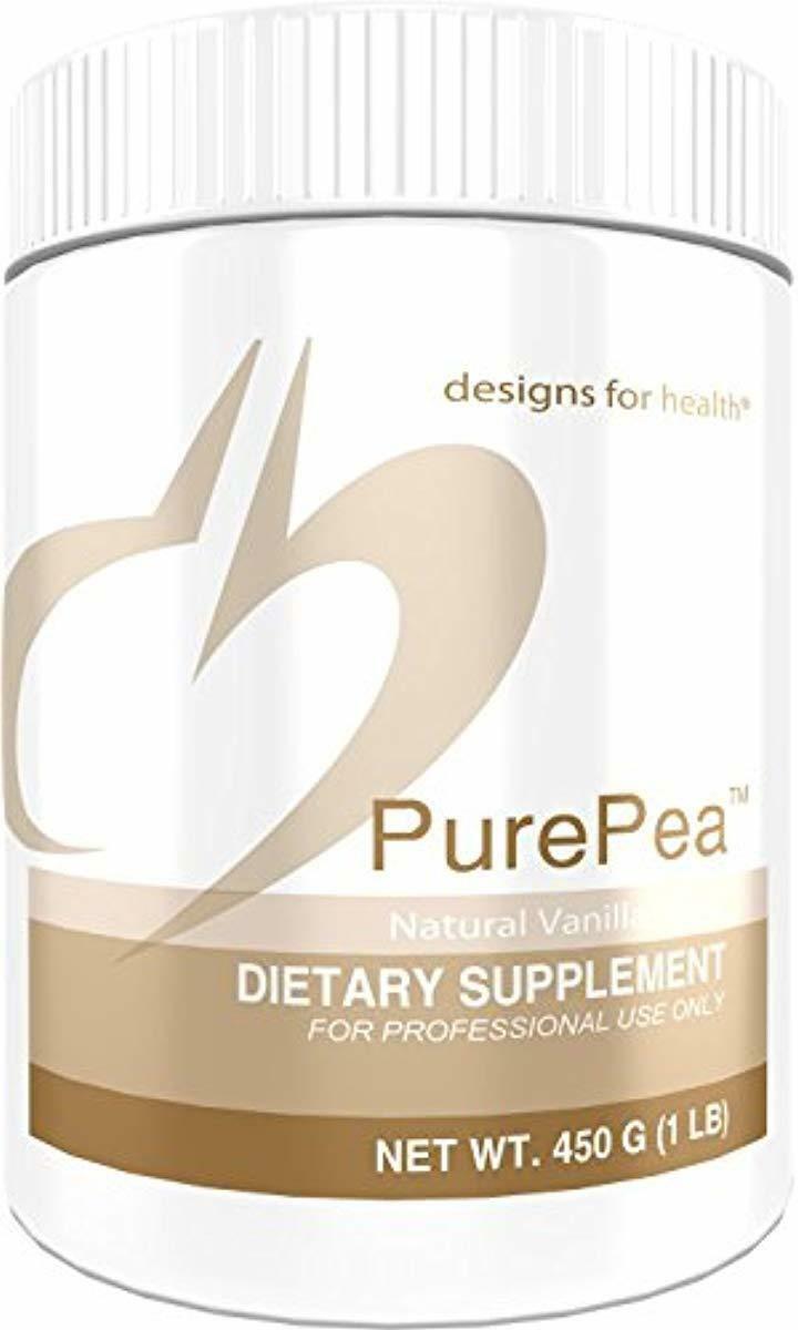 designs for health purepea vanilla pea protein
