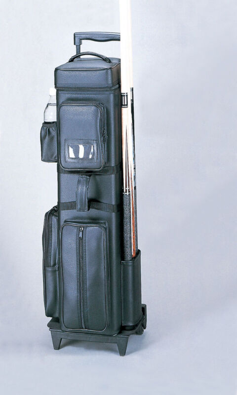 Dealers 12x24 Rolling Pool Cue Case w/ FREE Shipping
