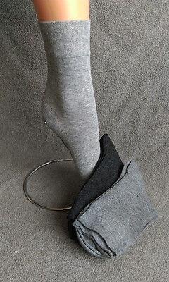 Markenqualität 3 Paar Damensocken gemi. Töne Ohne Gummidruck schadstoffgeprüft