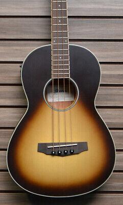 Ibanez PNB15EONB Parlor Acoustic-Electric Bass Guitar Light Violin Sunburst