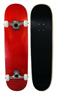 S4O Complete Full Size Standard Maple Deck Skateboard - Red