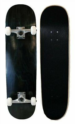 S4O Complete Full Size Standard Maple Deck Skateboard - Black
