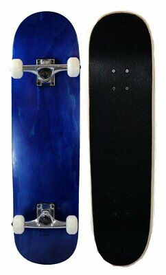 S4O Complete Full Size Standard Maple Deck Skateboard - Blue