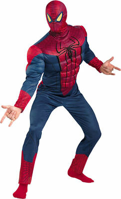 Morris Costumes Men's Superheroes & Villains Spiderman Costume 50-52. DG42505C](Spider Man Villain Costumes)