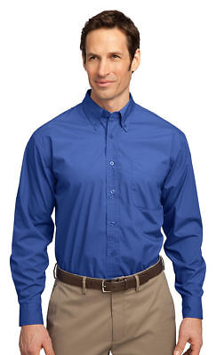 Port Authority Men's Wrinkle Resistant Long Sleeve Easy Care