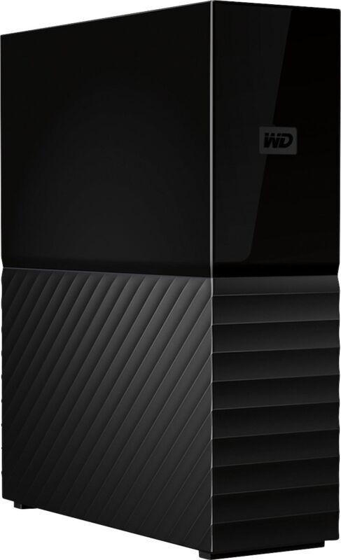 WD My Book 10TB External USB 3.0 Hard Drive with Hardware Encryption Black WDBBGB0100HBK-NESN