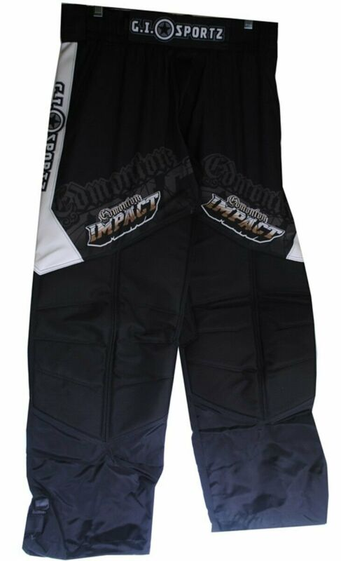 GI Sportz Competition GLIDE Paintball Pants - Edmonton Impact Black Gold Medium