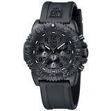 Luminox Men's 3081.BO Navy Seal Colormark Chronograph Rubber Watch A.3081.BO