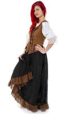 Mittelalter Kleid Gewand Kostüm Magd Bäuerin Gr. 36 - Mittelalter Magd Kostüme