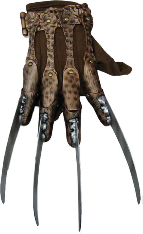 Morris Costume Adult Unisex Freddy Supreme Edition Metal Glove One Size. RU35508