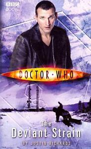RICHARDS,JUSTIN-DOCTOR WHO: THE DEVIANT STRAIN BOOK NEU