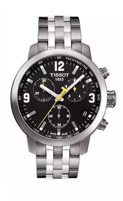Tissot Men's Prc 200 Stainless Steel Chronograph Quartz Watch T0554171105700