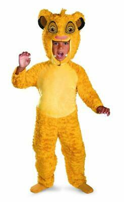 Simba Deluxe Lion King Disney Fancy Dress Up Halloween Toddler Child Costume
