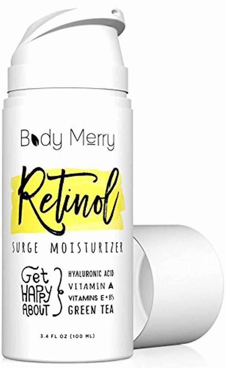 Body Merry Retinol Moisturizer Anti Aging/Wrinkle Acne Face