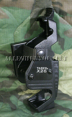 MILITARY POLICE RIGHT OR LEFT HANDED X26 X26C TASER HOLSTER HOLDER CASE NEW