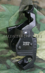 USGI-Military-Taser-International-X26-amp-X26c-HOLSTER-Ambidextrous-Black-NEW-NIB