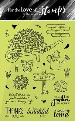 Hunkydory für die Liebe von Stempel A6 Klarer Stempel Set Barrow in Bloom 25pcs ()