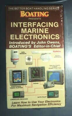 Interfacing Marine Electronics (VHS, 1994) Better Boat Handling
