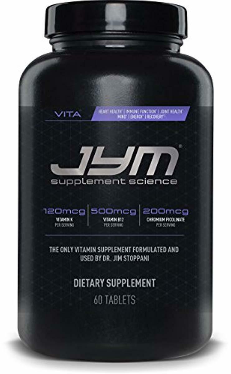 JYM Supplement Science, VITA JYM, Sports Multivitamin Design