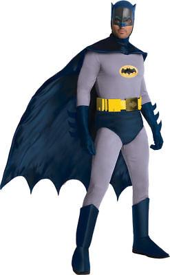 Morris Costumes Men's Grand Heritage TV Batman Complete Outfit 42-44. RU887207