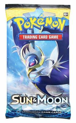 POKEMON TCG SUN & MOON BOOSTER PACK (10 CARDS)