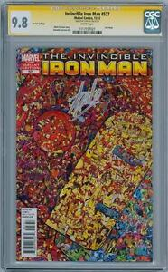 INVINCIBLE IRON MAN 527 COLLAGE VARIANT CGC 9.8 SIGNATURE SERIES SIGNED STAN LEE