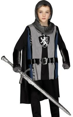 Lionheart Knight Costume Boys Medieval Armor Childs King Richard Lion Heart (Armored Knight Costume)