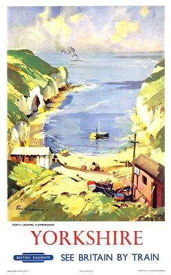 US SELLER, Yorkshire British Railways  travel posters discount wall decor - Discount Wall Decor