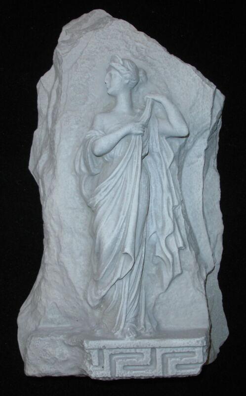 """Roman Greek Grecian lady fragment Venus Sculpture Wall Frieze 13"""" tall"""