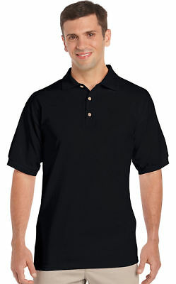Gildan Men's Welt Collar Short Sleeve Ultra 100% Cotton Jersey Polo Shirt. 2800