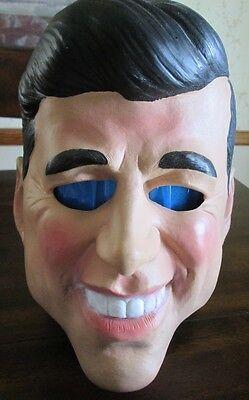 2006 Disguise JOHN F KENNEDY Full Head MASK JFK President Political USA Rubber](Jfk Mask)