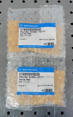 C157288 Lot 2 Agilent G1982-20111 Nano Spray End Cap