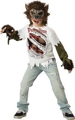 Ältere & Teenage Jungen Werwolf Halloween Kostüm Kleid Outfit 6-15 Jahre