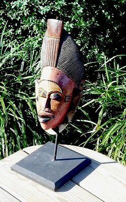 Guro Mask with Stand -- West Africa