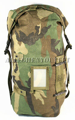 Military Protective Carrying Bag Ensemble Duffle Gear Woodland - Paintball GC