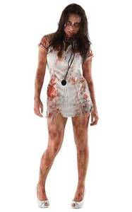 ZOMBIE NURSE The Walking Dead Costume Size Fits Up to Size 12 New Madora Bay Mandurah Area Preview