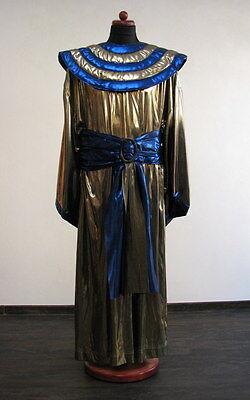 Gürtel und Kragen für Ägypter Kostüm gold blau Pharao Fasching Karneval Fasnacht