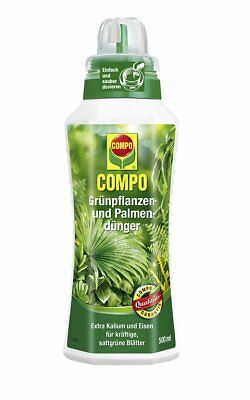 Compo Grünpflanzendünger Zimmerpflanzendünger Palmendünger 500ml