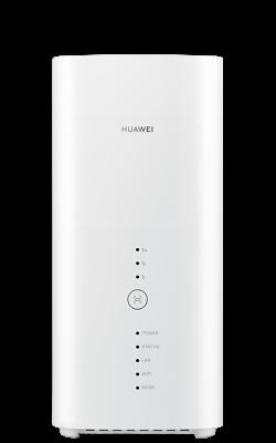 HUAWEI B818-263 Blanc Routeur 4G+ LTE LTE-A Catégorie 19 Gigabit WiFi AC 2 x TS9