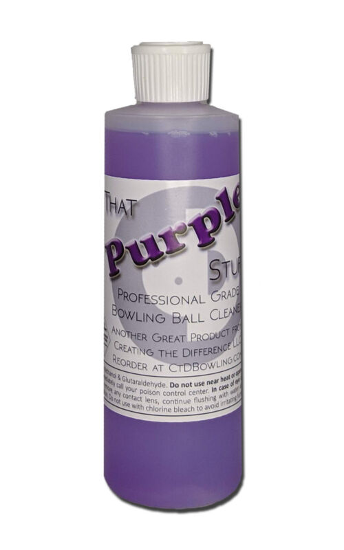 That Purple Stuff Professional Grade Bowling Ball Cleaner 8 oz
