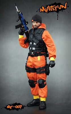 1:6 Scale MULTIFUN MF007 Quarantine Zone Agent Clothing Set Fit 12'' Body