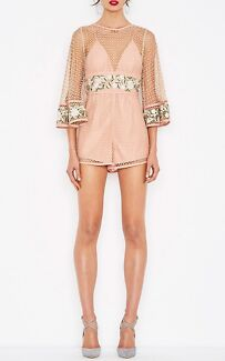 Alice McCall All Eyes Playsuit Size 6 WORN ONCE