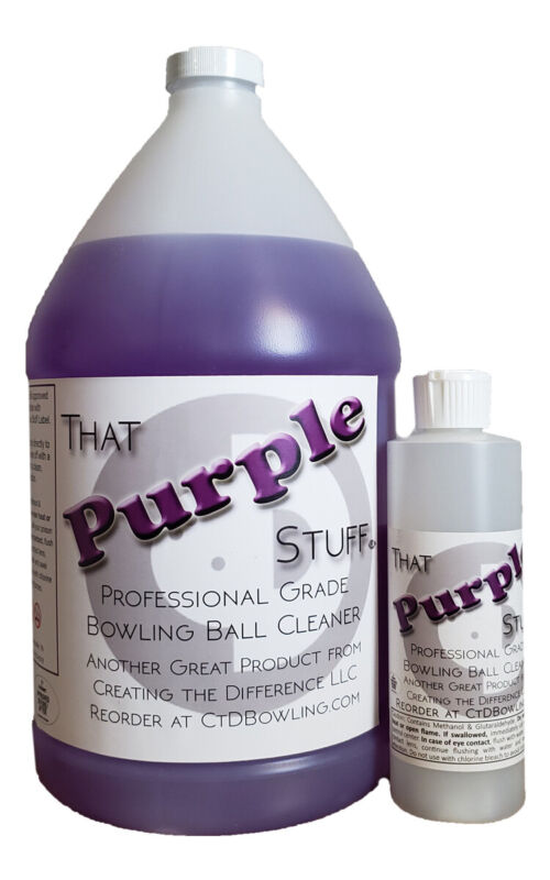 That Purple Stuff Professional Grade Bowling Ball Cleaner | Gallon